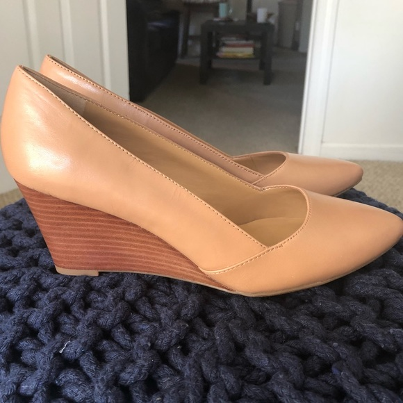 0804c20149 Franco Sarto Shoes | New In Box Frankie Wedges Taupe | Poshmark